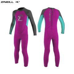 ONeill wetsuits TODDLER REACTOR II 2MM BACK ZIP Girls Neoprene Gyerek