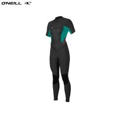 ONeill wetsuits wms BAHIA 2mm Back Zip S/S Full Neoprene Női