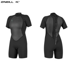 ONeill wetsuits wms REACTOR II 2mm Back Zip S/S Spring Neoprene Női